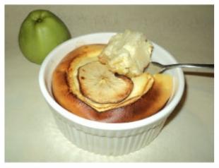 Творожно-яблочный мус: рецепт от шефа