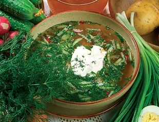 Самая летняя еда: окрошка с квасом