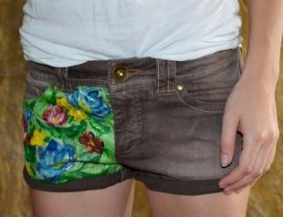 Мастер-класс: делаем шорты с принтами