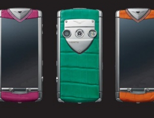 Vertu выпустил линейку «конфетных» телефонов