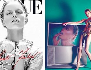 Каролина Куркова снялась для Vogue. Фото