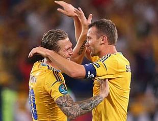 Шевченко и Воронин завершили карьеру в сборной