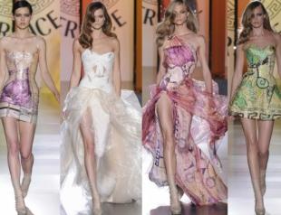 Показ Versace открыл Неделю высокой моды в Париже