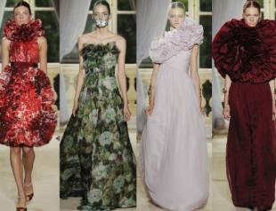 Неделя высокой моды в Париже: Giambattista Valli