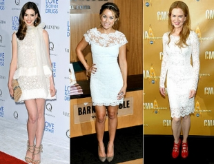 Маленькое белое платье: как и с чем носить