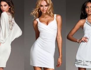 Топ-10 маленьких белых платьев от Victoria`s Secret