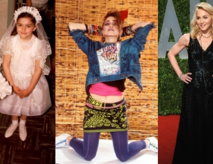 Как эволюционировал стиль Мадонны? Фото