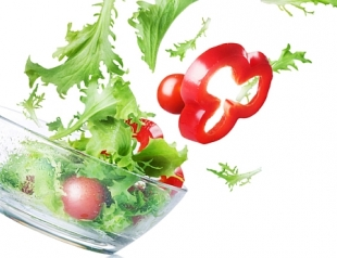Сытные овощные салаты