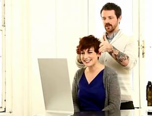 Как уложить короткие волосы: дневной и вечерний варианты