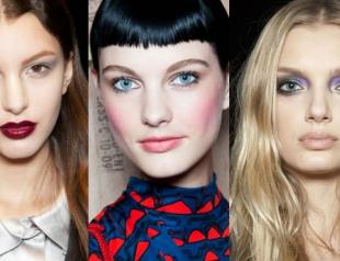 Тренды макияжа осени-2012. Фото