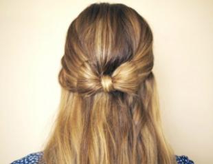 Мастер-класс: делаем бант из волос