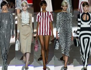 Неделя моды в Нью-Йорке: полосатое шоу Marc Jacobs