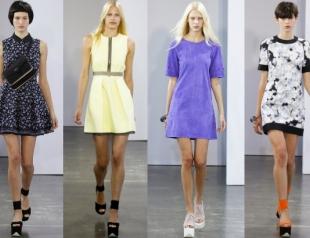 Неделя моды в Нью-Йорке: показ Victoria by Victoria Beckham