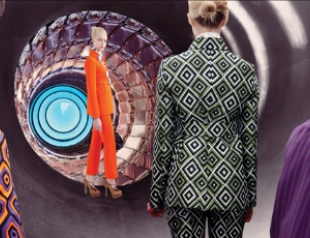 Рекламная кампания в стиле ретрофутуризм от Prada