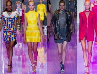 Неделя моды в Милане: показ Versus