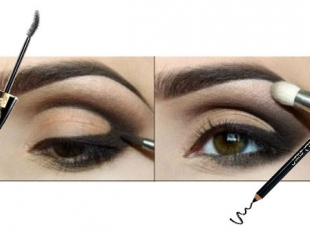 Мастер-класс: макияж глаз в карандашной технике. Фото