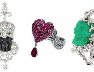Дом Christian Dior представил новые ювелирные коллекции