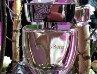Mercedes-Benz представил дебютный женский аромат