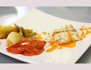 Рецепт сибаса, фаршированного фенхелем. Видео