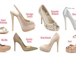 Самая модная свадебная обувь. Фото