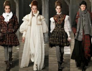 Дом Chanel провел показ Pre-Fall 2013 в Шотландии