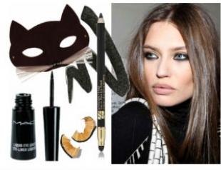 Идеи новогоднего макияжа-2013. Фото