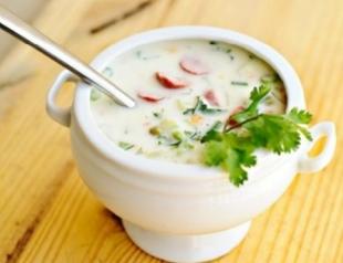 Как приготовить холодный суп из гороха?