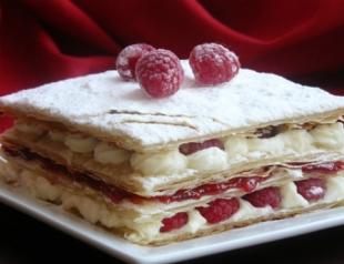 Десерт «Мильфей»: мастер-класс по приготовлению