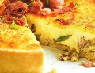 Пирог «Киш»: мастер-класс по приготовлению
