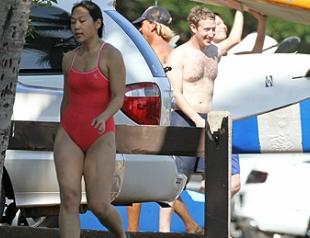 Цукерберг с женой взяли уроки серфинга на Гавайях. Фото