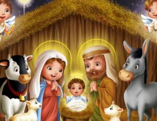 Самые красивые рождественские открытки 2013