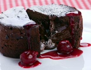 Мастер-класс: шоколадные кексы за 5 минут