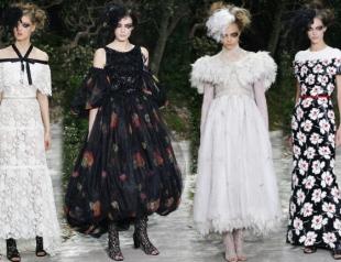 Неделя высокой моды в Париже: Chanel s/s 2013