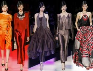 Неделя высокой моды в Париже: Armani Privé s/s 2013