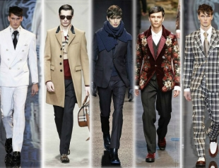 Неделя мужской моды в Милане: лучшее
