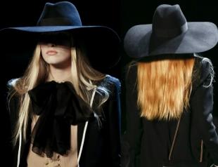 Широкополая шляпа Saint Laurent