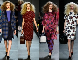 Показ Marc by Marc Jacobs fall-winter 2013-2014. Видео