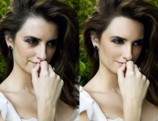 Как выглядят звезды до и после фотошопа? Фото