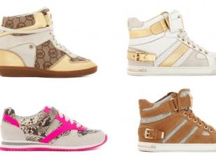 Michael Kors представил новую коллекцию кроссовок