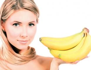 Маски для волос из банана
