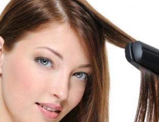 Как восстановить волосы после применения утюжка?