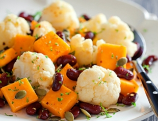 Постные салаты: лучшие рецепты 2013