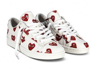 Новая коллекция обуви Comme des Garçons для Converse