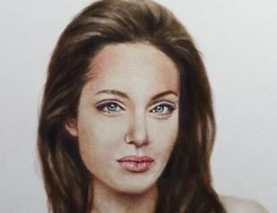 Портрет Джоли топлесс после мастэктомии выставили на аукцион