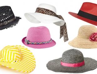 Модные пляжные шляпы 2013: что, где, почем