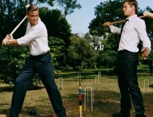 Брэд Питт осудил Клуни за решение бросить Стейси Киблер