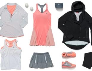 Nike выпустил новую коллекцию для игры в теннис