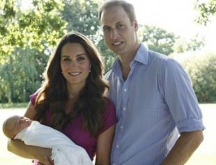 Кейт Миддлтон и принц Уильям показали сына