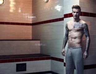 Дэвид Бекхэм снялся в новой рекламной кампании для H&M