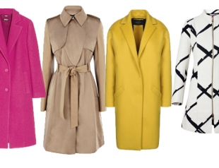 Модные пальто и плащи осень 2013: что, где, почем